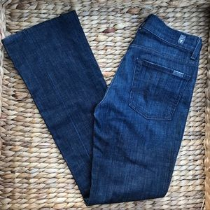 7 for ALL MANKIND | High Waist Bootcut Jeans 27